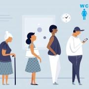 ¿Son los baños públicos igualitarios?