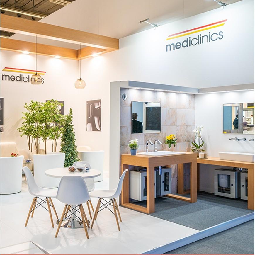 Mediclinics en Expocomfort, Mosbuild e Interclean 2020